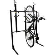 Bike Fixation 8023, Indoor 3 Bike Non-Lockable Vertical Storage Rack