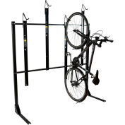 Bike Fixation 8024, Indoor 4 Bike Non-Lockable Vertical Storage Rack