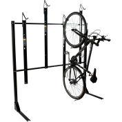 Bike Fixation 8024, Indoor 4 Bike Non-Lockable Vertical Storage Rack