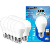 MiracleLED 604744 LED Max Bulb, A20, 12W, Package of 10