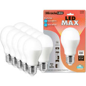 MiracleLED 604745 LED Max Bulb, A20, 12W, Package of 10