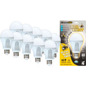 MiracleLED 604756 Super Bug Light Bulb, A20, 7W, Package of 10