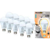 MiracleLED 604757 Super Spider Light Bulb, A20, 7W, Package of 10