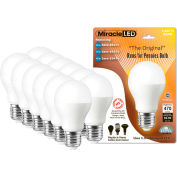 MiracleLED 604810 Runs For Pennies Bulb, A19, 5W, 12 bulbs per pack