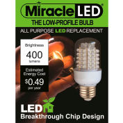 MiracleLED® General Purpose Warm Low Profile Bulb, 4W