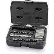 Craftsman® Industrial™ Socket Wrench Set 24778, SAE/Metric, 27 Pc