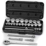 Craftsman® Industrial™ Socket Wrench Set 24842, SAE, 28 Pc