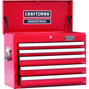 "Craftsman® Industrial™ 18383 5-Drawer 26"" 3000 Series Ball-Bearing Chest"