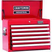 "Craftsman® Industrial™ 18392 6-Drawer 26"" 3000 Series Ball-Bearing Chest"