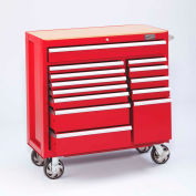 "Craftsman® Industrial™ 18475 13-Drawer 40"" 5000 Series Ball-Bearing Cart"