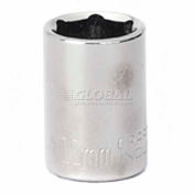 "Craftsman® Industrial™ 9-22045 11mm Socket 6 Pt., Standard, Metric, 1/4"" Drive"