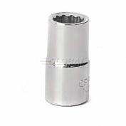 """Craftsman® Industrial™ 9-22057 3/8"""" Socket 12 Pt., Standard, Inch, 1/4"""" Drive"""