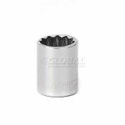 """Craftsman® Industrial™ 9-22059 1/2"""" Socket, 12 Pt., Standard, Inch, 1/4"""" Drive"""