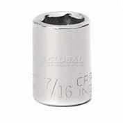 """Craftsman® Industrial™ 9-23074 7/16"""" Socket, 6 Pt., Standard, Inch, 3/8"""" Drive"""