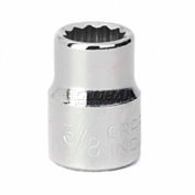 """Craftsman® Industrial™ 9-23119 3/8"""" Socket 12 Pt., Standard, Inch, 3/8"""" Drive"""