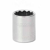 "Craftsman® Industrial™ 9-23137 15mm Socket, 12 Pt., Standard, Metric, 3/8"" Drive"