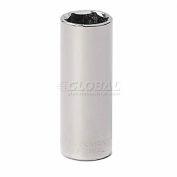 "Craftsman® Industrial™ 9-23182 17mm Socket, 6 Pt., Deep, Metric, 3/8"" Drive"