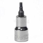 "Craftsman® Industrial™ 9-23251 1/8"" Hex Bit Socket, Standard 3/8"" Drive"