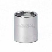 """Craftsman® Industrial™ 9-24167 1-1/8"""" Socket 6 Pt., Standard, Inch, 1/2"""" Drive"""