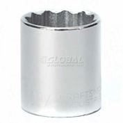 """Craftsman® Industrial™ 9-2427 1-1/4""""Socket 12 Pt., Standard, Inch, 1/2"""" Drive"""