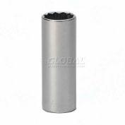 "Craftsman® Industrial™ 9-24484 7/8"" Socket, 12 Pt., Deep Inch 1/2"" Drive"