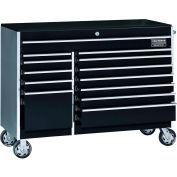 "Craftsman® Industrial™ 38556 13-Drawer 56"" 9000 Series Rolling Cart Black"