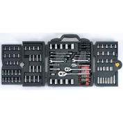 "Stanley® 96-011, 1/4"", 3/8"" & 1/2"" Drive 170 Piece Mechanic's Tool Set"