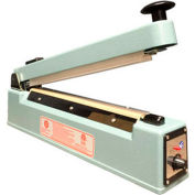 "Sealer Sales KF-205HC 8"" Hand Sealer w/ 5mm Seal Width w/ Sliding Cutter"