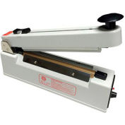 "Sealer Sales KF-210HC 8"" Hand Sealer w/ 10mm Seal Width w/ Sliding Cutter"