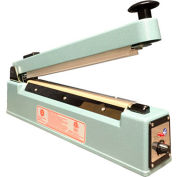 "Sealer Sales KF-300HC 12"" Hand Sealer w/ 2.7mm Seal Width w/ Sliding Cutter"