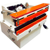 """Sealer Sales W-300DATS 12"""" Table Top Direct Heat Sealer w/ 15mm Seal, Serrated Seal"""