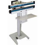 "Sealer Sales W-600T 24"" Double Impulse Foot Sealer w/ 5mm Seal Width"