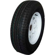 Sutong Tire ASR1127 Service Trailer Radial Tire ST205/75R15 - 6 Ply on 15 x 5 (5-4.5) Wheel