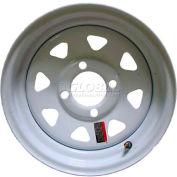Sutong Tire Resources NB2003 Trailer Wheel 12 x 4 (4-4) - White - Spoke