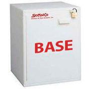 "6x2.5 Liter, Bench Plast-a-Cab® HDPE Base Cabinet, 16-3/4""W x 15-3/4""D x 21""H"