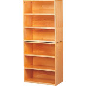 "Wooden Shelving Unit, Standard Model, 31""W x 16""D x 72-1/2""H"