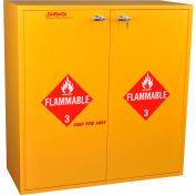 "54 Gallon, Flammable Cabinet w/Flame Arrestors, Self-Closing, 43""W x 18""D x 44-5/8""H"
