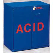 "24x2.5 Liter, Jumbo Stacking Acid Cabinet, 30""W x 18-1/2""D x 32-1/2""H"