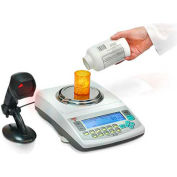 """Torbal DRX-500sv NTEP Digital Pill Counting Scale 500g x 0.001g 4-11/16"""" Dia. Plat. W/ Cloud Compat."""