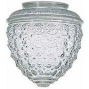 Satco 50-112 Clear Pineapple Glass