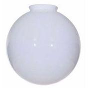 Satco 50-153 Blown Glossy Opal  Ball 10-in. Diameter