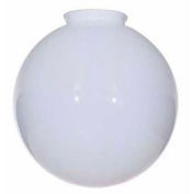 Satco 50-155 Blown Glossy Opal  Ball 12-in. Diameter