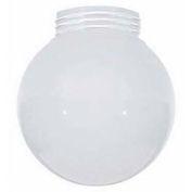 Satco 50-216 Globe Inside Sprayed White