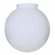 Satco 50-218 Blown Glossy Opal  Ball 14-in. Diameter