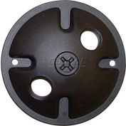 "Nuvo 76/666, 2 Light-Mounting Plate, Dark Bronze, 4.5""W X 1""H"