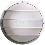 """Nuvo 77/892, 2 Light-Round Cage Wall Fixt., Round Cage Wall Fixt., Black, 10""""H"""