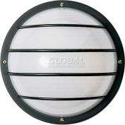 Nuvo 77/893, 2 Light-Round Cage Wall Fixt., Round Cage Wall Fixt., White