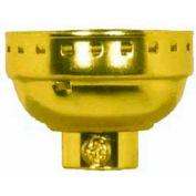 Satco 80-1215 Aluminum Cap - 1/8 IP Less Set Screw - Nickel