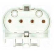 Satco 80-1601 Low Profile Long Twin Tube Lampholder - Horizontal