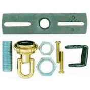 Satco 90-1693 Screw Collar Loop Parts Bag - Antique Brass Finish